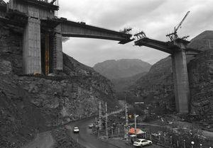 زمان بهرهبرداری از قطعه یک آزادراه تهران-شمال اعلام شد