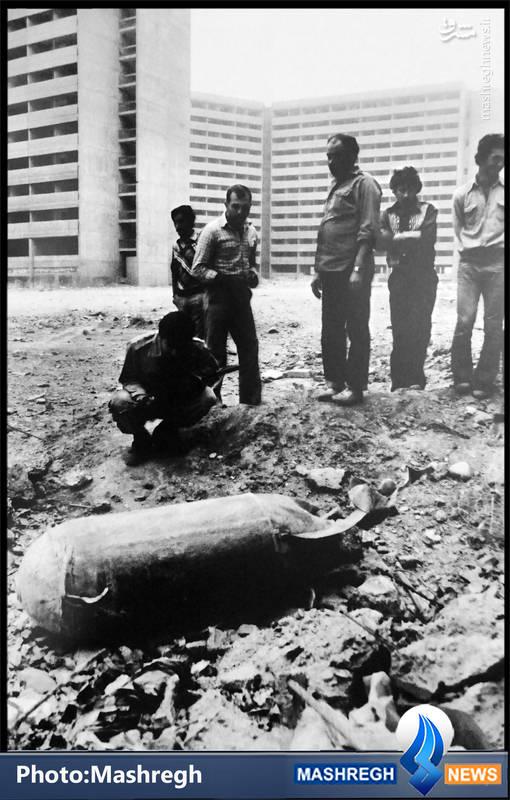 عکس/ بمب در شهرک اکباتان