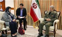 توصیه وزیر دفاع به سفیر هلند در ایران