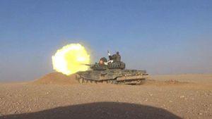 نبرد سنگین ارتش سوریه با داعش در جنوب دمشق