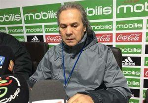 تصمیم عجیب سرمربی الجزایر برای بازی با ایران