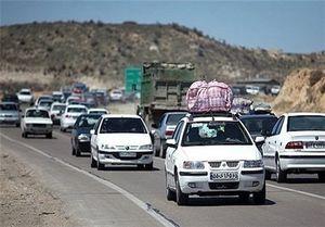 ترافیک پرحجم در جادههای شمالی، خراسان رضوی، تهران-کرج،تهران-قم و ساوه