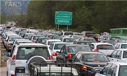 ترافیک نیمهسنگین در جادههای شمالی و منتهی به تهران/ مهگرفتگی در فیروزکوه و چالوس