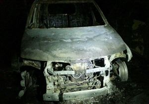 خودروهای لوکس در آتش سوختند