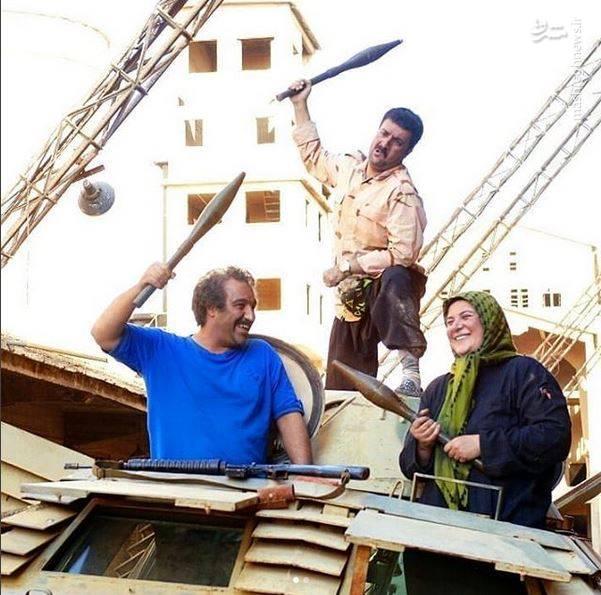 تصاویر جدید از سریال پایتخت در سکانسهای سوریه