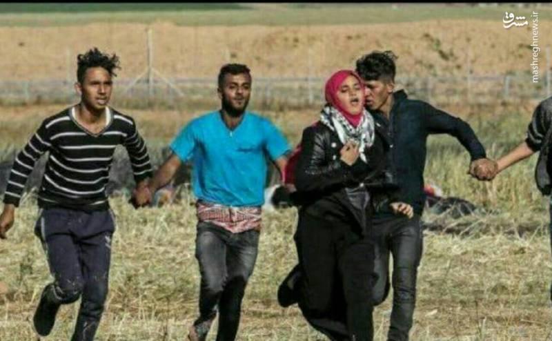 تصویری از شرافت جوانان فلسطینی