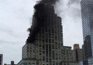 یک کشته در آتشسوزی برج «ترامپ»