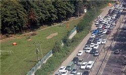 ترافیک سنگین در برخی محورهای شمال