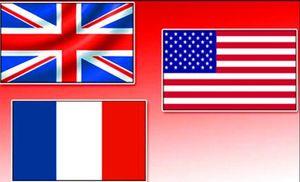 گفتگو سران آمریکا، فرانسه و انگلیس درباره سوریه