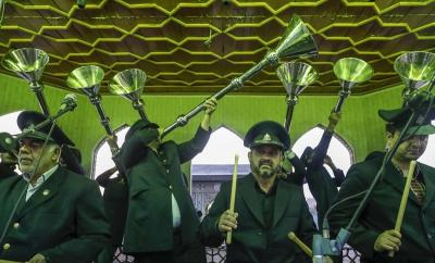 عکس:جشن مبعث در حرم مطهر شاهچراغ(ع)
