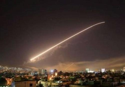 دفع حمله موشکی به حمص و دمشق توسط پدافند ارتش