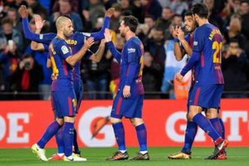 فاصله بارسلونا تا قهرمانی در لالیگا