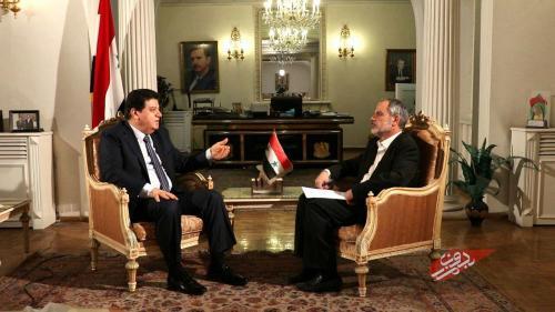 پاسخ سفیر سوریه به سوالات «بدون مرز» تلویزیون