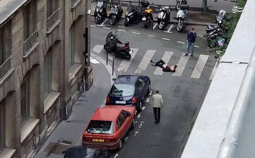 تصویری از شهروند فرانسوی مقتول در پاریس