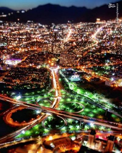 عکس/ نمایی دیدنی از تهران