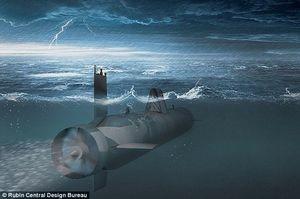 روسیه در حال ساخت زیردریایی بدون سرنشین است