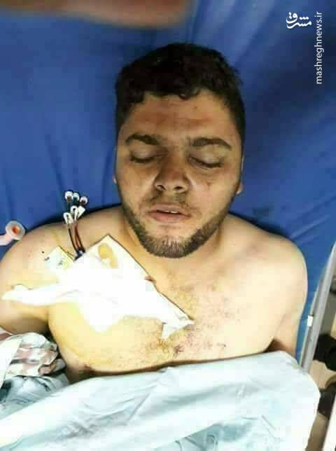 پسر هنیه مجروح شد+عکس
