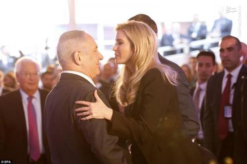 دختر ترامپ در آغوش نتانیاهو!+عکس
