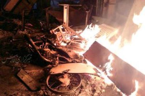 مرگ مشکوک 1 نفر در اتفاقات دیشب کازرون