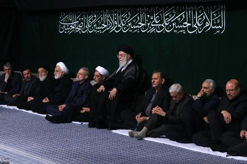 دومین شب مراسم عزاداری حضرت اباعبدالله الحسین(علیهالسلام) در حسینیه امام خمینی(ره)