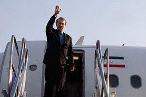 رئیس مجلس تهران را به مقصد آنتالیا ترک کرد