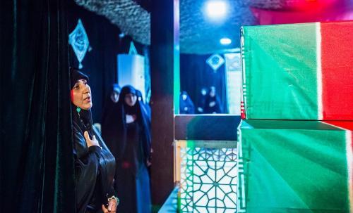 پیکر شهید اسماعیلی پس از ۳۶ سال بازگشت+گزارش تصویری