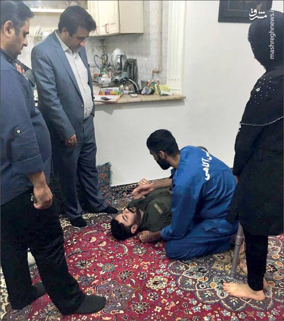 زن خیانتکار صحنه قتل شوهرش را بازسازی کرد