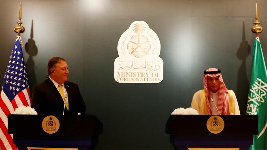 پرداخت ۱۰۰میلیون دلار به آمریکا با ورود پمپئو به عربستان