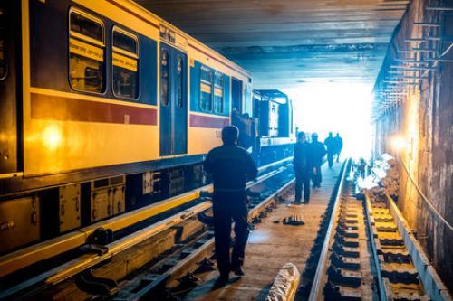 خودکشی مرگبار در مترو