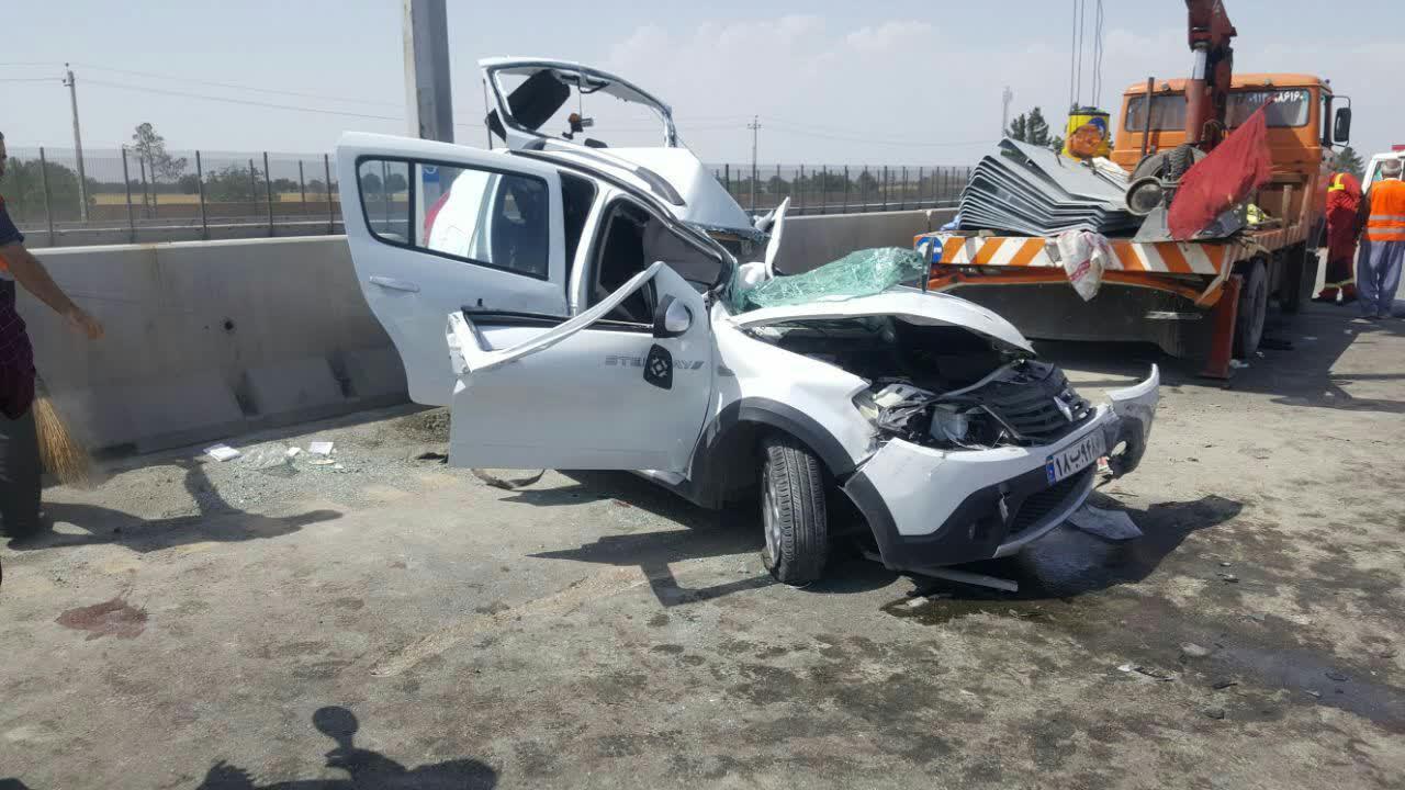 تصادف مرگبار در آزاد راه تهران-ساوه