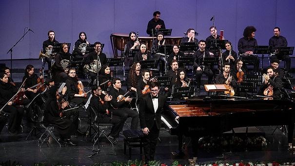 کنسرت ارکستر «نیلپر» در تالار وحدت+عکسها
