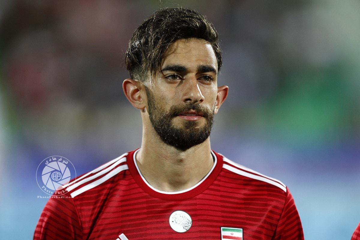 رکورد علی قلیزاده در بازیهای تیم ملی