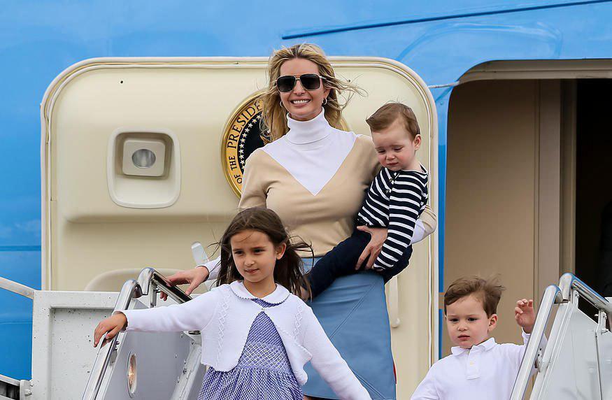 دختر رئیس جمهور با کیف ۳۴۰۰ دلار+عکس