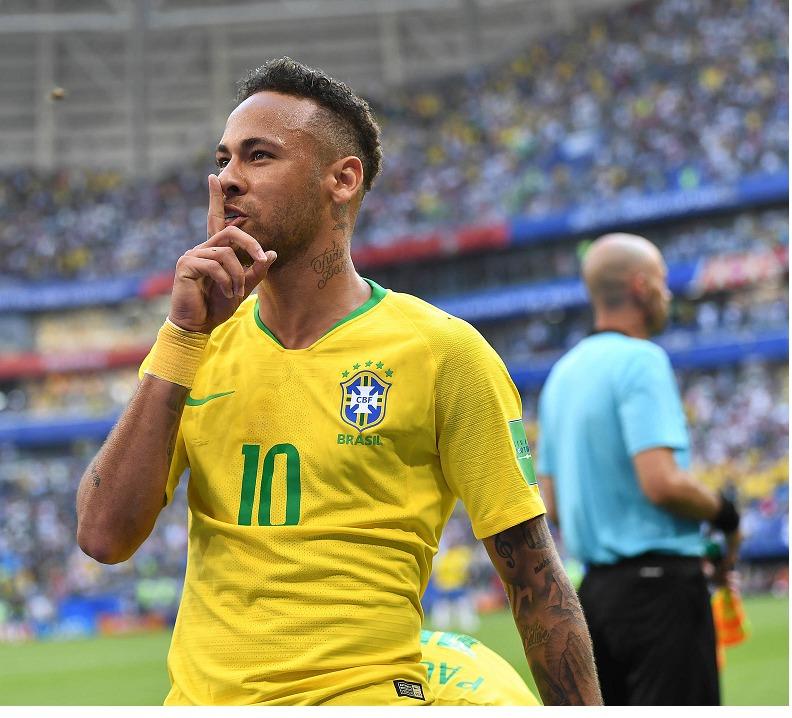 مصدومیت  نیمار در بازی دوستانه تیم ملی برزیل