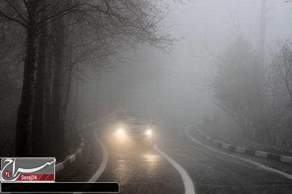 علت بیشتر تصادفات سرعت زیاد و عدم دید کافی درشرایط نامساعد جوی است