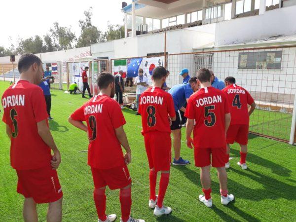 برتری تیم فوتبال هفت نفره ایران برابر تایلند