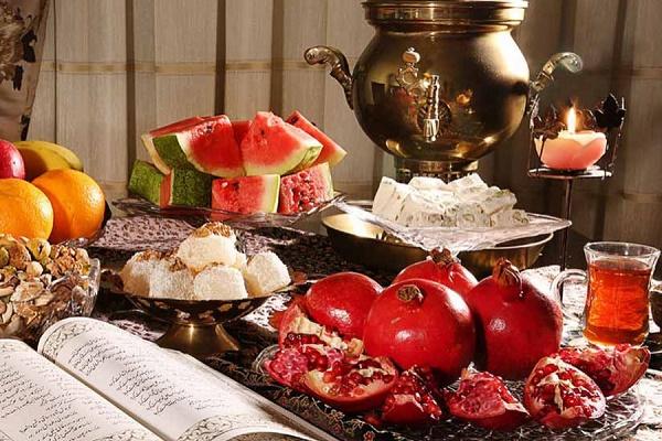 نکات تغذیهای در شب یلدا