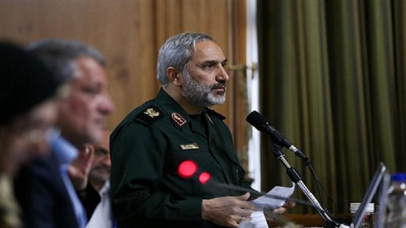 شهرداری تهران اطمینان داشته باشد که «سپاه» همواره از آنها پشتیبانی خواهد کرد