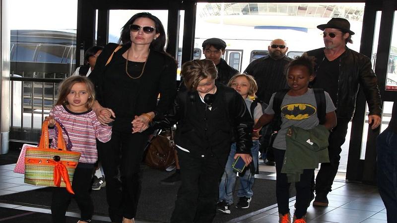 تکلیف حضانت فرزندان برد پیت و آنجلینا جولی مشخص شد