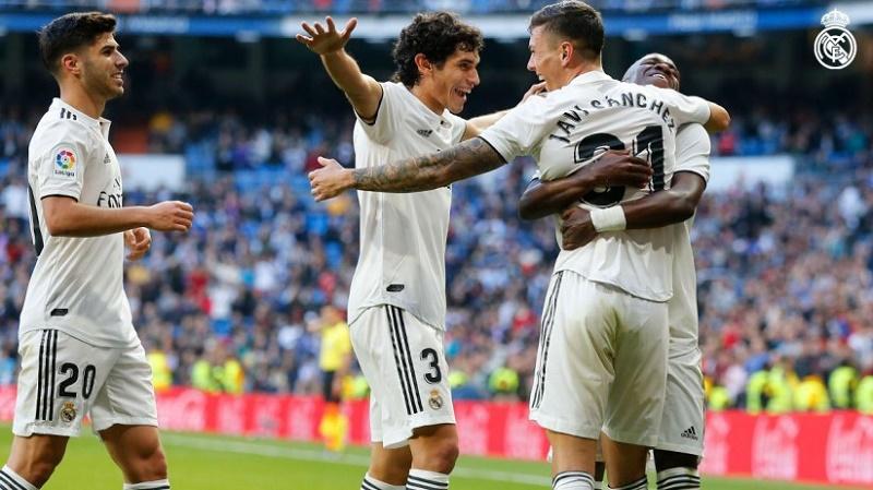 پیروزی رئال مادرید مقابل ملیا
