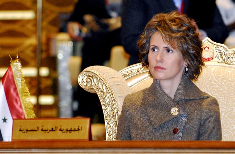 ظاهر متفاوت همسر بشار اسد پس از ابتلا به بیماری+عکس