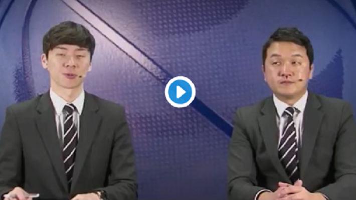 اتفاق ناخواسته برای مجری حین پخش زنده+فیلم