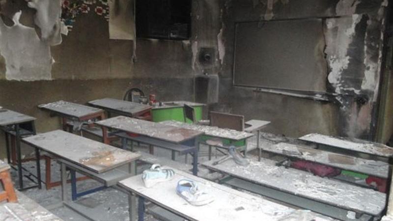 دستگیری 4  نفر در ارتباط با حادثه آتشسوزی مدرسه زاهدان