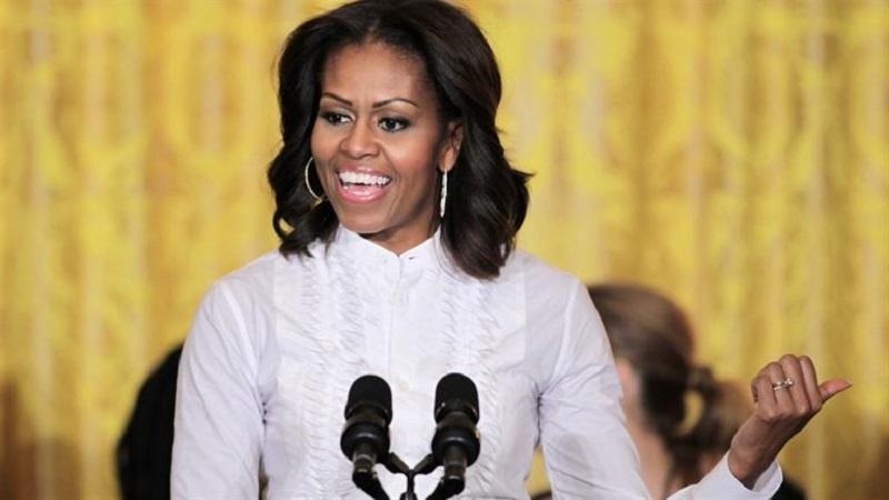 چکمههای جذاب و خاص میشل اوباما سوژه رسانه ها شد+عکس