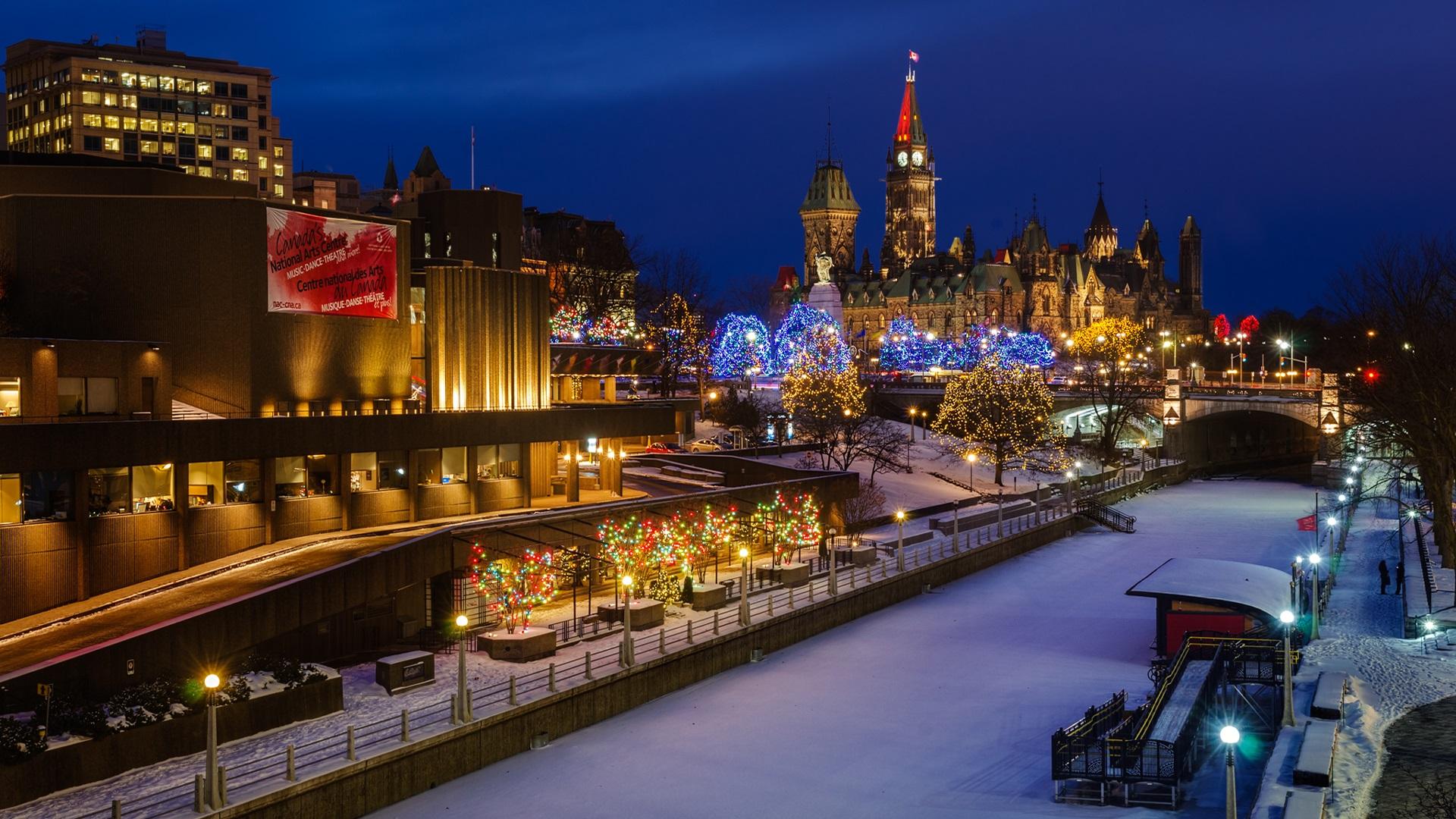 پایتخت کانادا کجاست؟