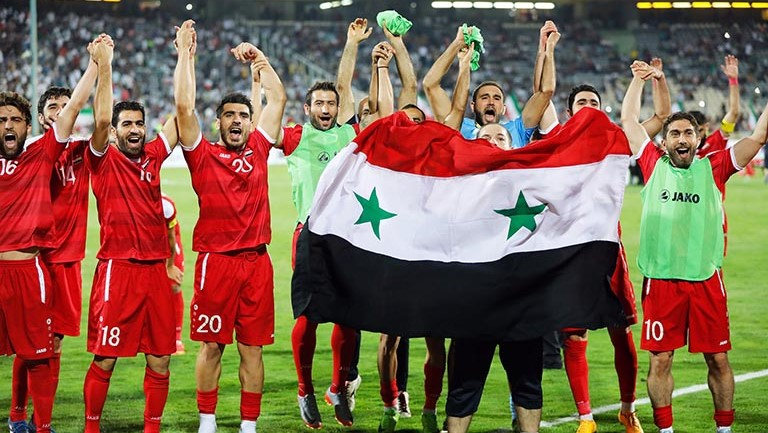 تیم ملی فوتبال سوریه در جام ملتهای آسیا