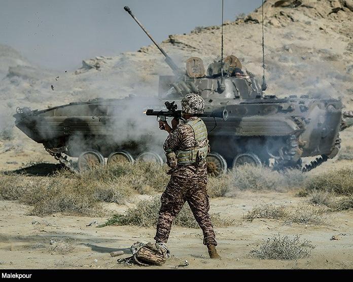 جنگ در سوریه و تحول در  رزمایش اخیر سپاه