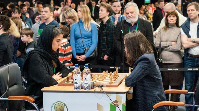 سارا خادم الشریعه قهرمان مجموع مسابقات سریع و برق آسای شطرنج جهان شد