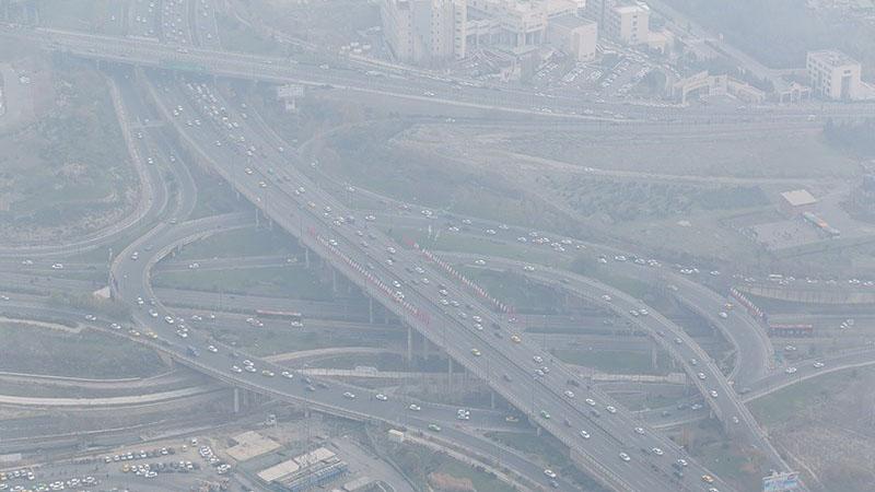 افزایش آلودگی هوای تهران به سبب انتشار بوی نامطبوع
