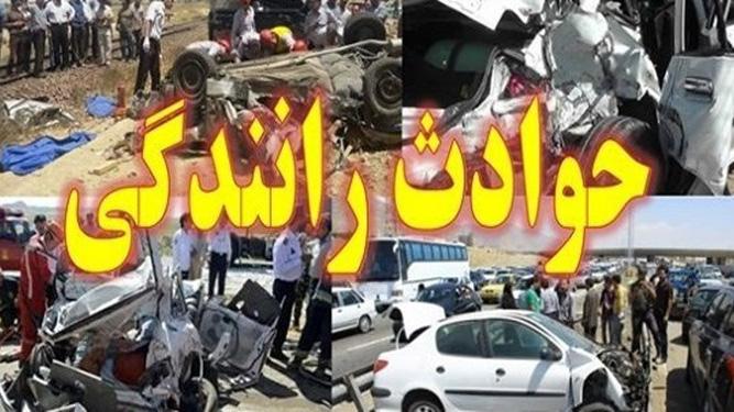 تصادف سرویس مدرسه در محله خزانه تهران